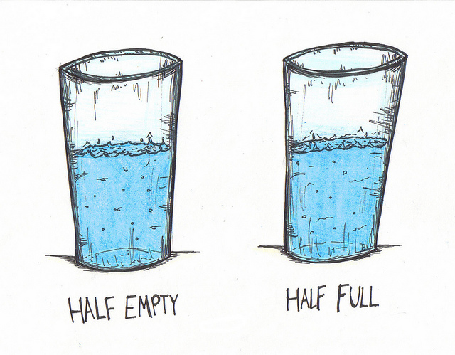 Your Cup Maybe Half Full But It's Refillable!